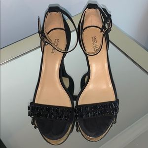 Michael Kors Black dress sandals